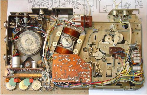 Тоніка-305 - схемотехніка