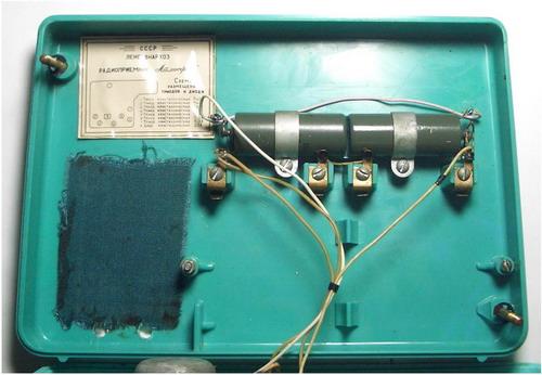 Транзисторний приймач Атмосфера - котушка