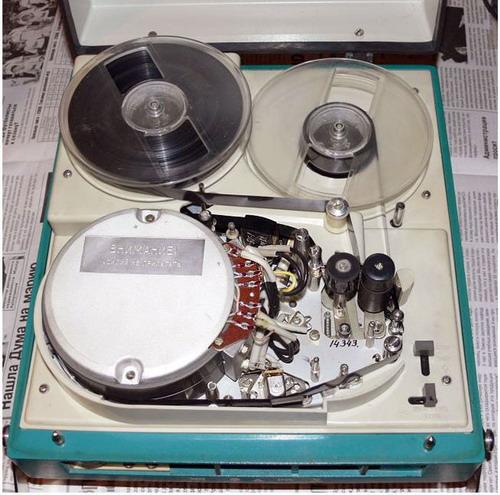 Электроника-501-видео - катушки