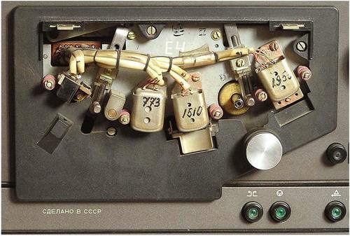 Електроніка ТА1-003 - блок головок