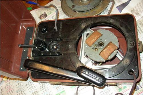 Електропрогравачі ЕППМ-1, ДП-46, ДП-55 - механіка