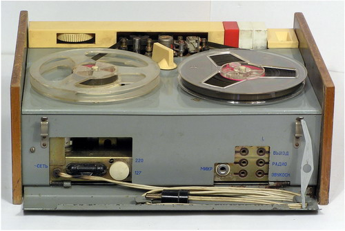 Магнітофонний приставка Нота - передня панель