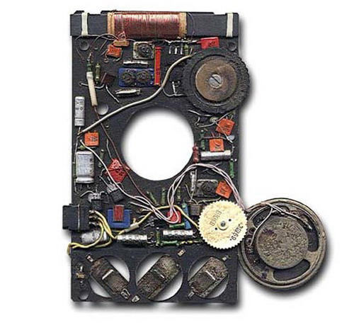 Сувенірний радіоприймач Сюрприз - схемотехніка