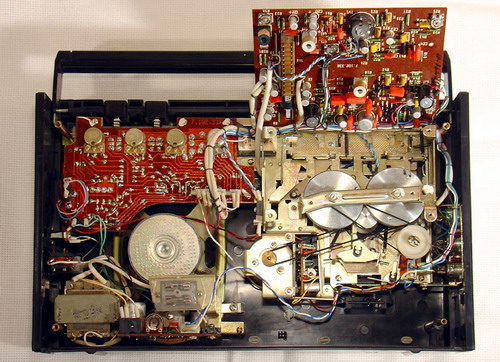 Квазар-303 - схемотехніка