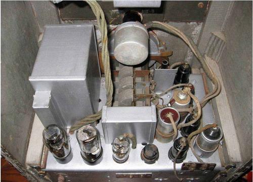 Радіоприймач СВД-9 - всередині