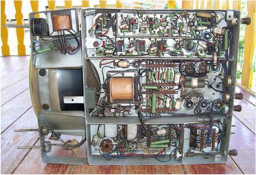 Авангард ТЛ-1 - радіодеталі
