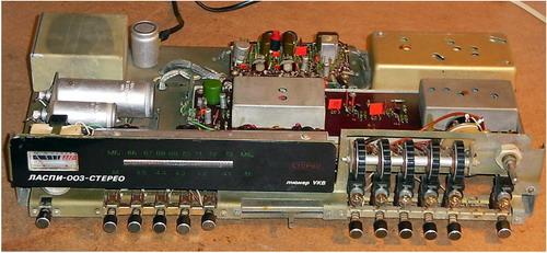 Ласпі-003-стерео - схемотехніка