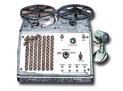 Катушечный ламповий магнітофон - Дніпро