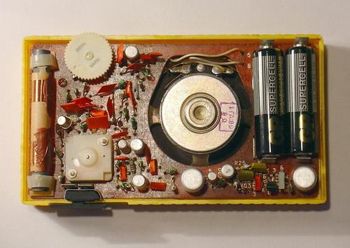 Габариты радиоприёмника