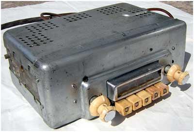 ламповий радіоприймач Автомобільний А-9