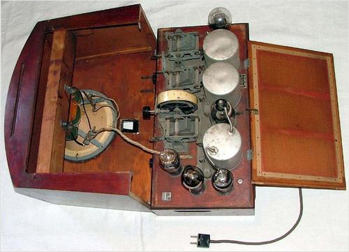 Радиприемник ЭКЛ-4, ЭКЛ-34 - схемотехніка