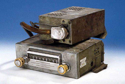 Автомобільний радіоприймач А-8 в комплекті