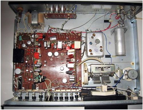 Корвет-104-стерео - схемотехніка