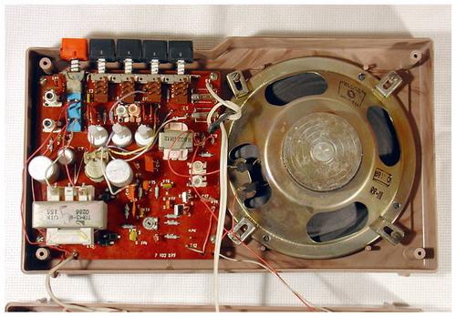 Електроніка-204 - схемотехніка