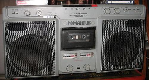 Магнітофон Романтик-307-стерео
