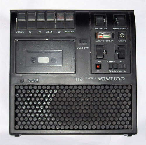 Магнітофон Соната-211 - лицьова панель