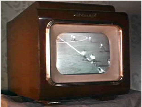 Телевізор Авангард ТЛ-1 в роботі