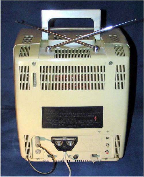 Электроника Ц-401М - задняя