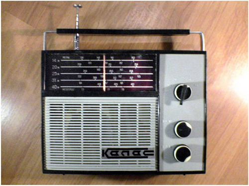 Радіоприймач Колос