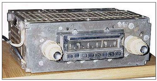 АПВ-60, АПВ-60-2 - передня панель приймача