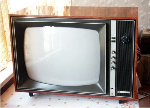 Кольоровий телевізор Рубін-401 - вигляд спереду