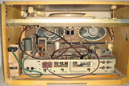 Радиола Эфир-М - схемотехника