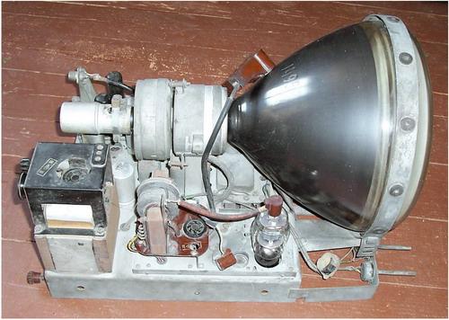 Авангард ТЛ-1 - кінескоп