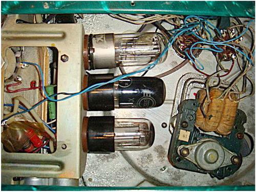 Электрофон Тайга (РГМ-1) - схемотехніка