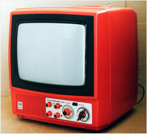 Телевізор Електроніка-Ц401