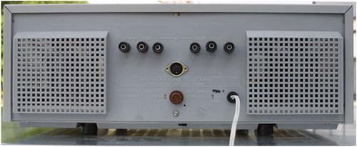 Прибій-50УМ-204С, Прибій-75УМ-204С - задня панель