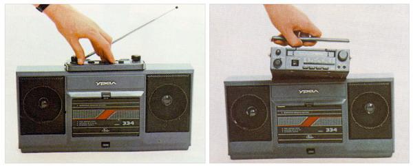 Кассетный магнитофонный