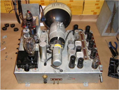 Телевізор КВН-49-1 - схемотехніка