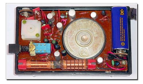 Дитячий радіоприймач-іграшка Юнга - монтажна схема