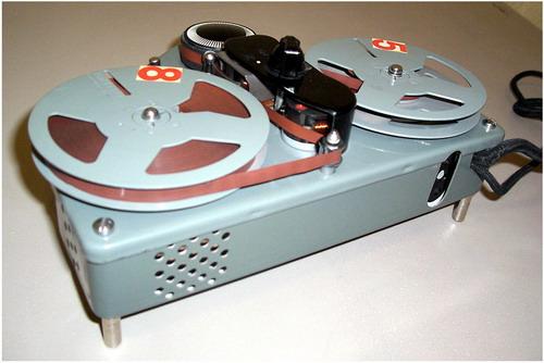 Катушечный магнітофон - приставка Хвиля