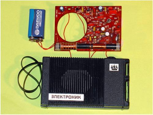 Радіоприймач Електронік - схемотехніка