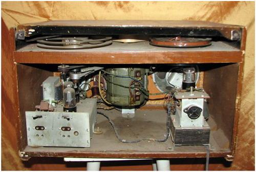 Мережевий катушечный магнітофон Дніпро-9 - схемотехніка