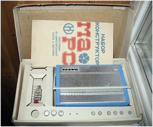 Набір-конструктор для складання радіо - Марс