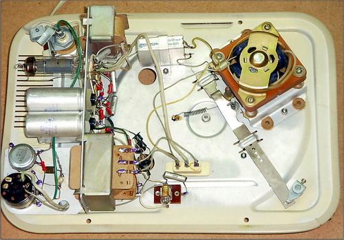 Электрофон Ювілейний РГ-3М - пристрій