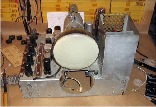 Телевізор КВН-49-1 - кінескоп