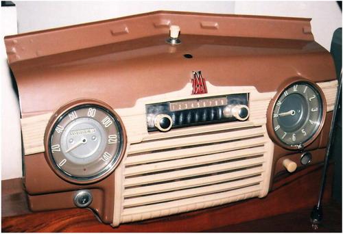 Автомобільний радіоприймач А-8М - в машині