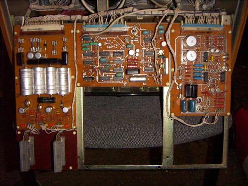 Олімп-004-стерео - схемотехніка