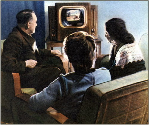 Веселка - кольоровий телевізор для всієї родини в СРСР