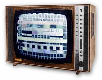 Кольоровий телевізор Рубін-707
