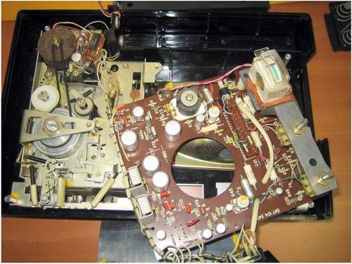Магнітофон ІЖ-302 - схемотехніка