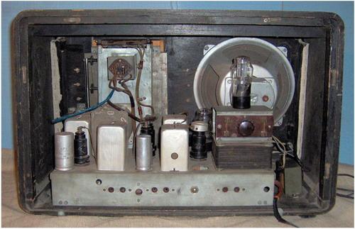 Мережевий радіоприймач Маршал - схемотехніка і лампи