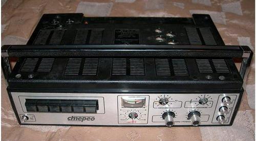 Електроніка-203-стерео - верхня панель