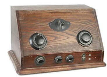 Четырехламповый батарейний радіоприймач БЧ-З