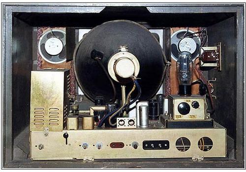 Телевізор Зеніт - схемотехніка
