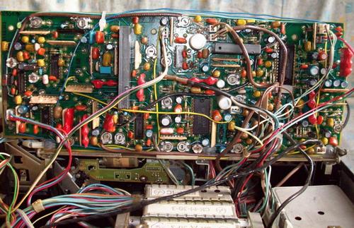 Електроніка ВМ-32 - монтажна плата