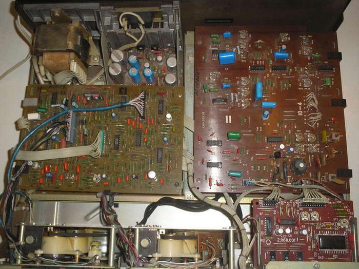 Санда МП-207С-1 - схемотехника